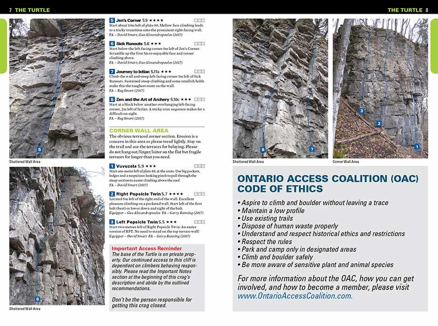 Ontario Climbing – The Turtle, Ontario's New Moderate Sport Crag