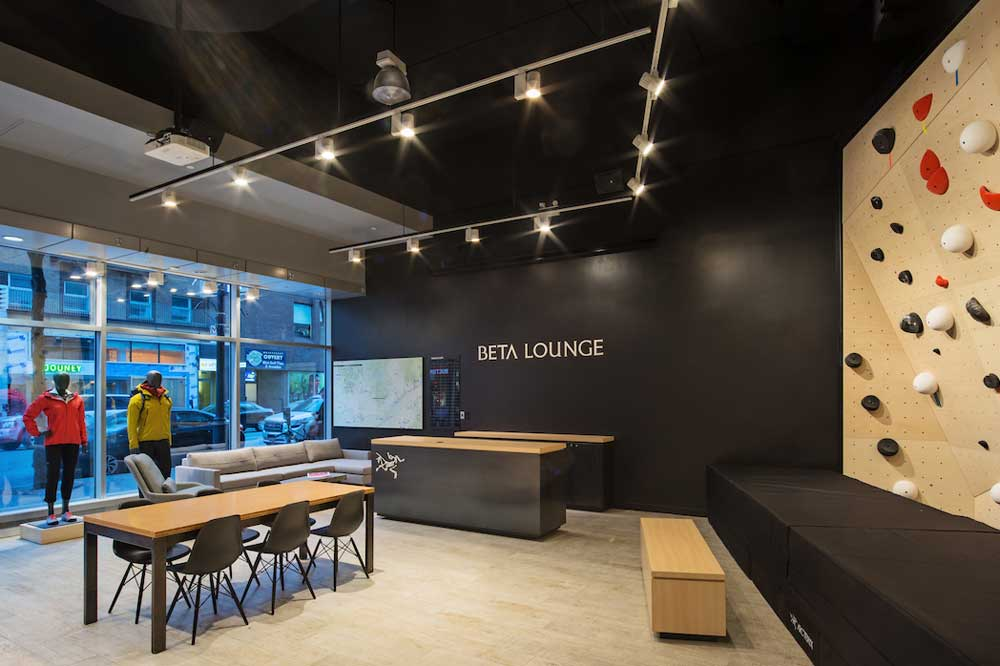 Arc'teryx's New OnSite Beta Lounge