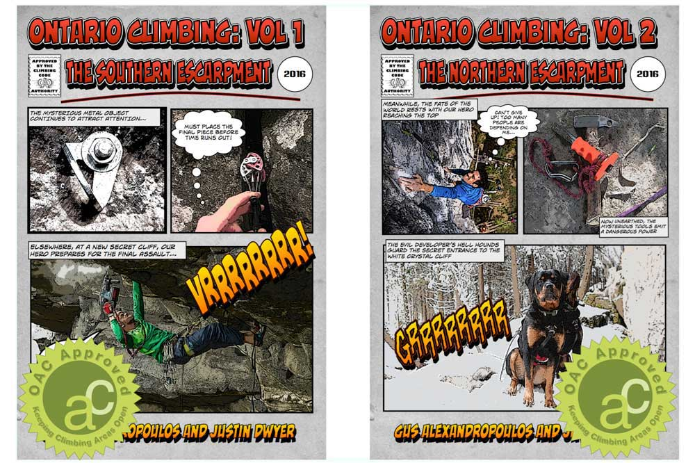 Ontario Climbing: Vol 1 and Vol 2